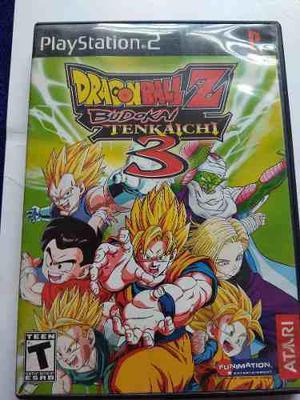 Dragon Ball Z Budokai Tenkaichi 3 Ps2 Playstation 2