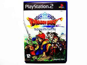 Dragon Quest 8 The Journey Cursed King Ps2 - Europeo Pal