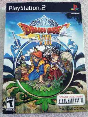 Dragon Quest Viii 8 Ps2 Play2 Nuevo Sellado De Fabrica Rol