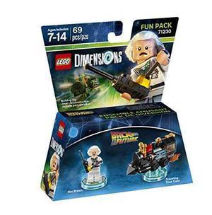 Espalda A Futuro Doctor Marrón Divertido Paquete - Lego Dim