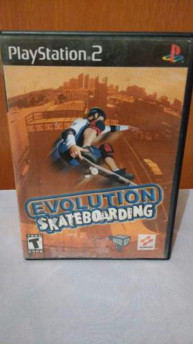 Evolution Skateboarding (con Manual) Ps2 Playstation 2 Od.st