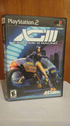 Extreme G Racing (con Manual) Ps2 Playstation 2 Od.st