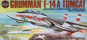 F-14a Tomcat Airfix Wolfpack Escala 1/72 Modelo Nuevo