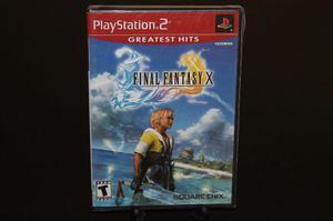 Final Fantasy X 10 Para Playstation 2. ~~~~ Nuevo ~~~~