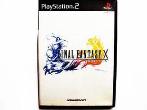 Final Fantasy X Japones Ps2 - Playstation 2