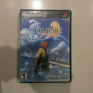 Final Fantasy X Original Ps2 Usado Envio Gratis