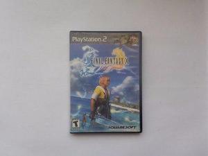 Final Fantasy X Ps2 Play Station 2 En Game Reaktor