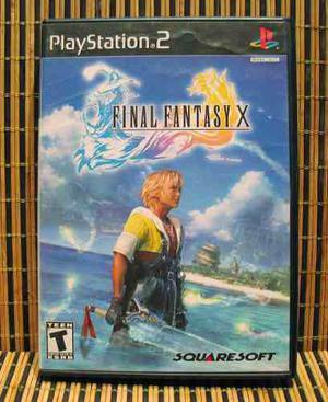 Final Fantasy X - Ps2 Rpg - Squaresoft - Kitase - 1a Ed