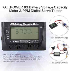 G T.power 8s Batería Metro Capacidad De Voltaje Ppm Digita