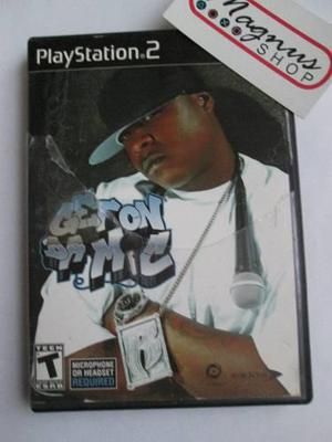 Get On Da Mic Para Playstation 2 Ps2 Juego De Karaoke Oferta