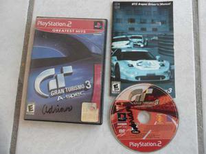 Gran Turismo 3 A Spec Completo Ps2 Greatest Hits