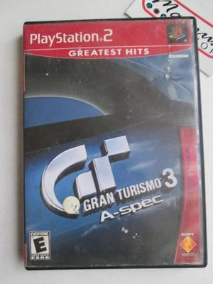 Gran Turismo 3 A Spec Playstation 2 Ps2 Carreras Autos