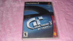 Gran Turismo 3 A- Spec Ps2
