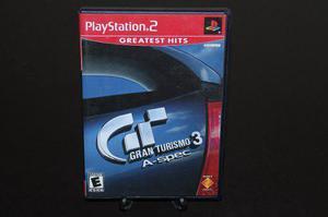 Gran Turismo 3 A-spec Para Playstation 2. Completo.
