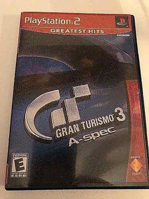 Gran Turismo 3 Para Ps2 Completo Funcionando