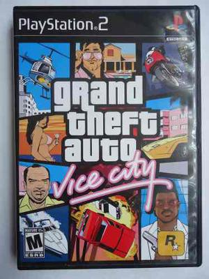Grand Theft Auto Vice City Para Playstation 2 Ps2 Como Nuevo