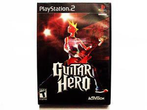 Guitar Hero Nuevo Ps2 - Playstation 2