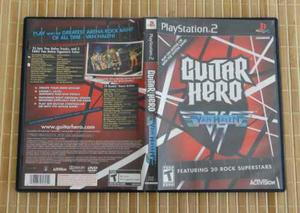 Guitar Hero Van Halen Ps2 Sony Playstation 2