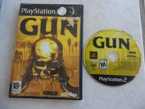 Gun Para Tu Ps2 Portada Impresa. Juegazo!!!