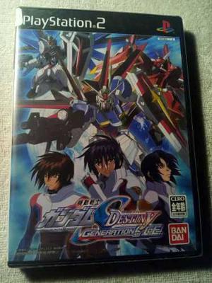 Gundam Seed Destiny Playstation 2 Ps2 Japones Nuevo Sellado