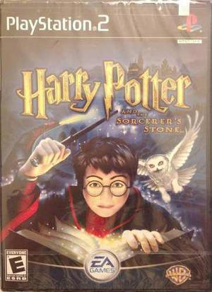 Harry Potter And The Sorcerers Stone Ps2 Nuevo Blakhelmet Sp