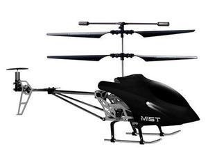 Helicoptero Mist Vica Rc Giroscopio 3.5 Canales Negro