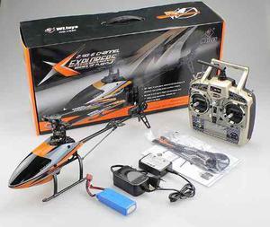 Helicoptero Rc. Wl V 950 Brushless 6ch 2.4g Flybarless
