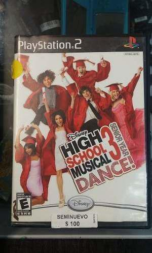 High School Musical Dance 3 Seminuevo! Ps2 En Igamers