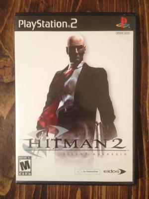 Hitman 2 Silent Assassin Ps2 - Incluye Envío!