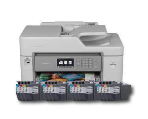 Impresora Multifuncional Brother Mfc-j5830dw Tinta -paquete
