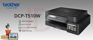 Impresora Multifuncional Brothert510 Wifi Tinta Continua Ori
