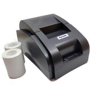 Impresora Termica 58mm Usb Ptv Con 2 Rollos Envio Gratis