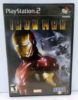 Iron Man Play Station 2 Ps2 Completo Retromex Tcvg
