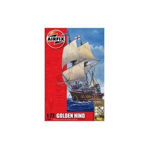 Juego De Regalo Airfix 1:72 Golden Hind Galleon De Hornby