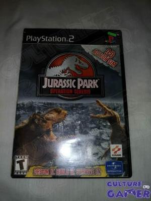 Jurassic Park Operation Genesis Para Tu Ps2 En Culture Gamer