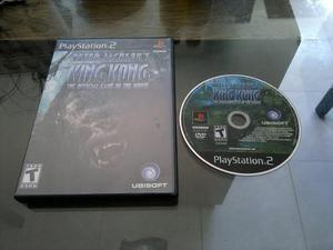 King Kong The Official Game Para Play Station 2,excelente