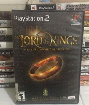 Lord Of Rings Señor De Los Anillos Play Station 2, Ps2