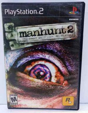 Manhunt 2 Play Station 2 Ps2 Completo Retromex Tcvg