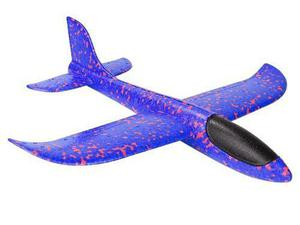 Mayoreo 5 Pzas Avion Planeador Con Luz Led Hielo Seco Grande