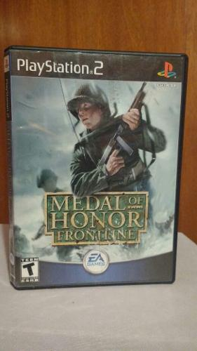 Medal Of Honor Frontline Ps2 Playstation 2 Od.st