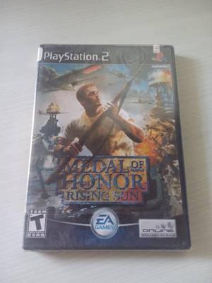 Medal Of Honor Rising Sun Ps2 Playstation 2 Nuevo Y Sellado