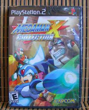 Mega Man X Collection - Ps2 Plataformas - Capcom - Nuevo