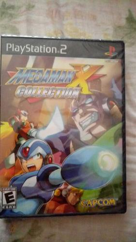 Megaman Mega Man X Collection Nuevo Ps2 $448