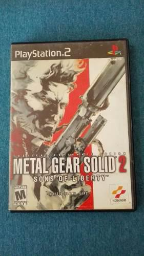 Metal Gear Solid 2 Sons Of Liberty - Playstation 2 Original