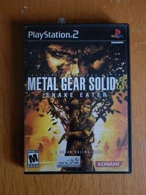 Metal Gear Solid 3 Para El Play Station 2