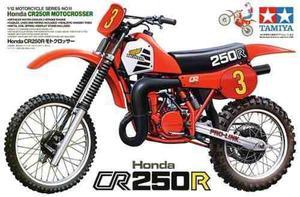 Modelo Escala 1/12 Honda Cr 250 R Tamiya