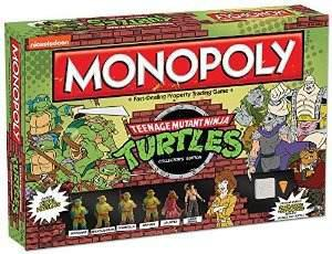 Monopolio: Edición Juego Teenage Mutant Ninja Turtles