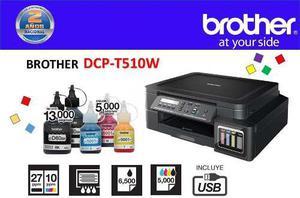 Multifuncional Brother Dcp-t510w Wifi Tinta Continua Fabrica