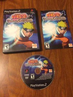Naruto Uzumaki Chronicles 2 Para Ps2 Completo Funcionando