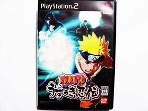 Naruto Uzumaki Chronicles Japones Ps2 - Playstation 2